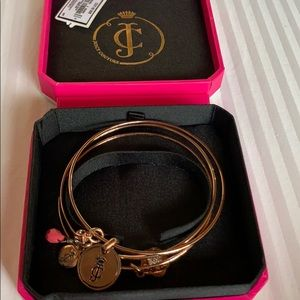 Juicy Couture Gold Bangles (3), New With Tags&Box